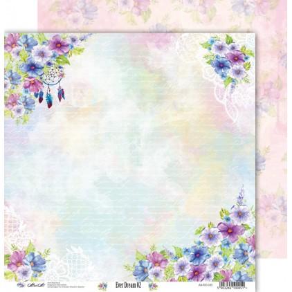 Scrapbooking paper 30x30cm - Ever Dream 02 - Altair Art Alt-ED-102