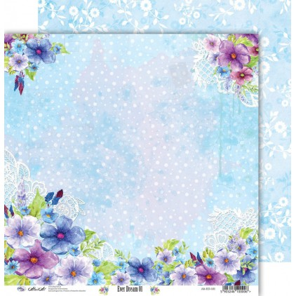Scrapbooking paper 30x30cm - Ever Dream 01 - Altair Art Alt-ED-101