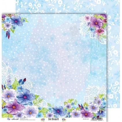 Scrapbooking paper 30x30cm - Ever Dream 01 - Altair Art Alt-ED-101