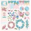 Scrapbooking paper set 30x30cm - Flower Harmony - Altair Art Alt-FH-100