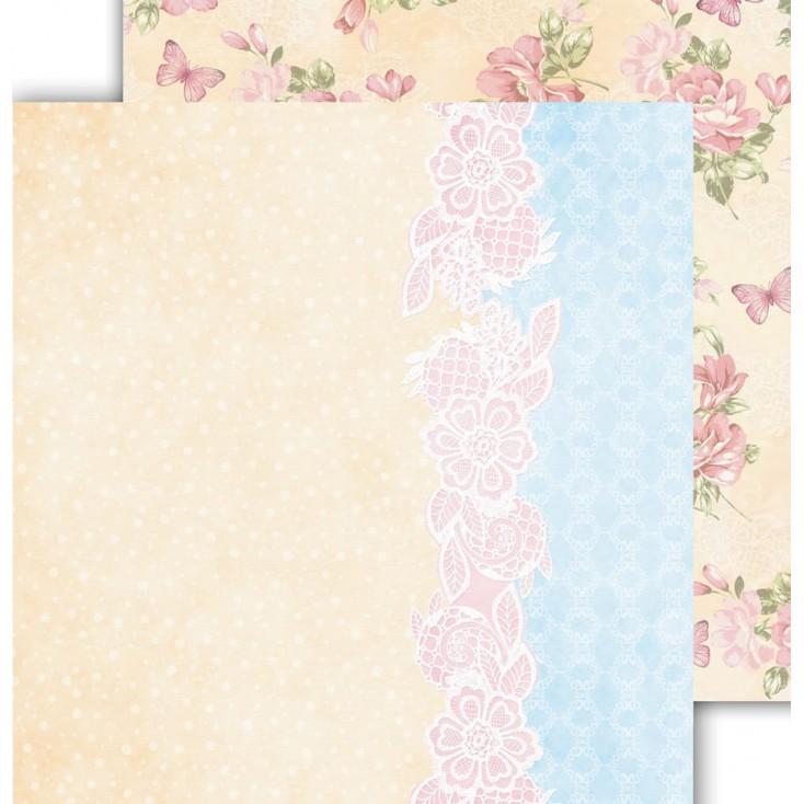 Papier scrapowy 30,5x30,5cm - Flower Harmony 05 - Altair Art Alt-FH-105