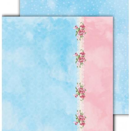 Papier scrapowy 30,5x30,5cm - Flower Harmony 03 - Altair Art Alt-FH-103