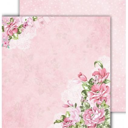 Papier scrapowy 30,5x30,5cm - Flower Harmony 02 - Altair Art Alt-FH-102