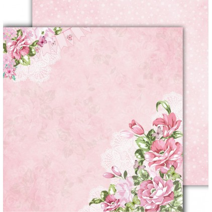 "Scrapbooking paper 12x12"" - Flower Harmony 02 - Altair Art Alt-FH-102"