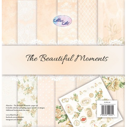 Papiery scrapowe - The beautiful moments - Altair Art Alt-BM-100