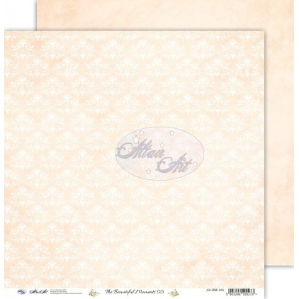 "Scrapbooking paper 12x12"" - The beautiful moments 05 - Altair Art Alt-BM-105"