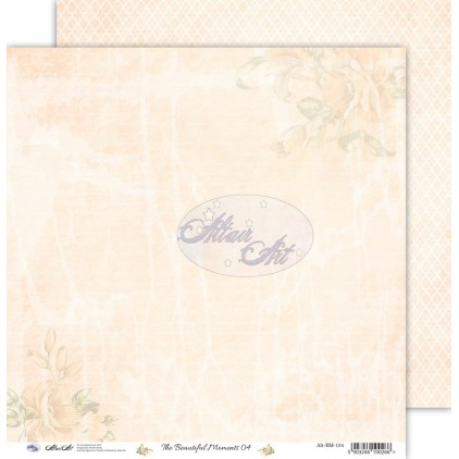 "Scrapbooking paper 12x12"" - The beautiful moments 04 - Altair Art Alt-BM-104"