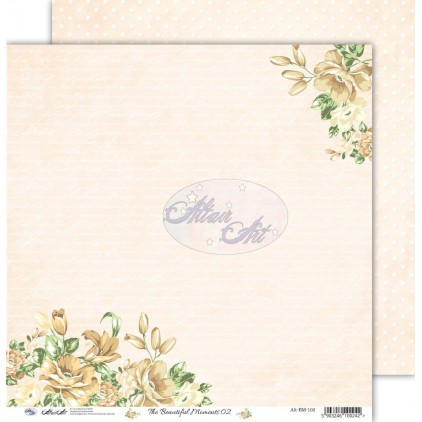 "Scrapbooking paper 12x12"" - The beautiful moments 02 - Altair Art Alt-BM-102"