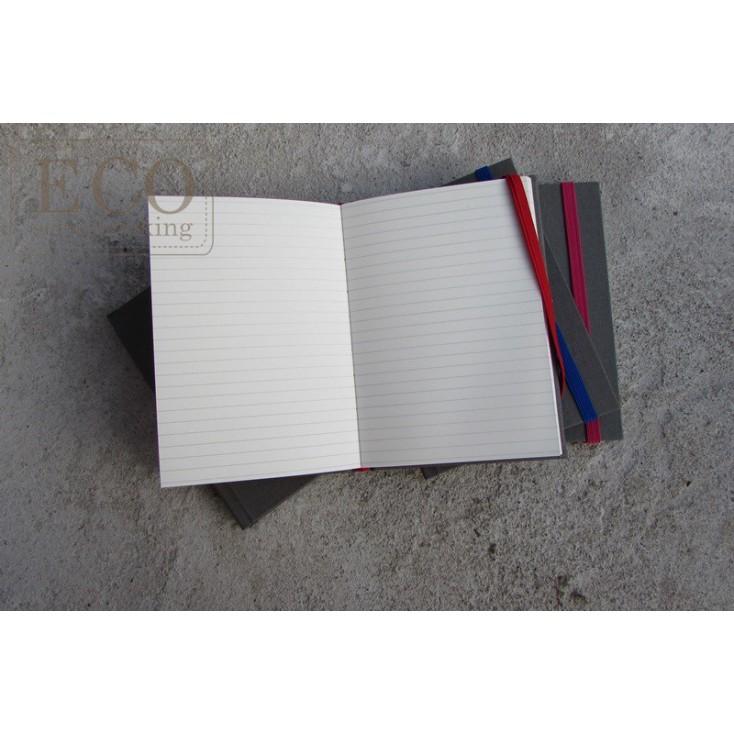 Notes w linię - szary 22,0 x 22,0 - Eco-scrapbooking
