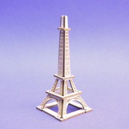 1295 - Laser cut, chipboard mini Eifel tower - Crafty Moly