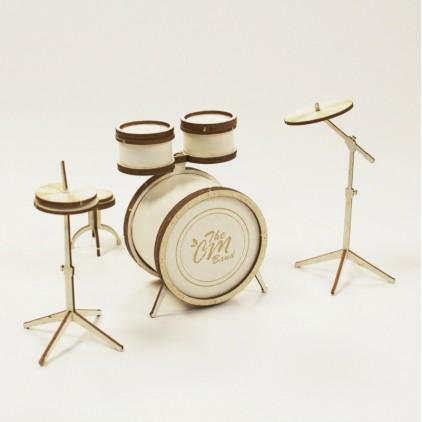 1007 tekturka 3D perkusja - Crafty Moly