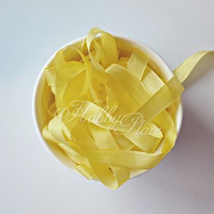 Wstążka vintage - wstążki gnieciuchy - 1 metr - 25128 Yellow