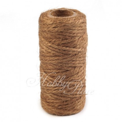 Natural Sisal String Ø2 mm -brown