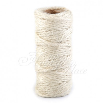 Natural Sisal String Ø2 mm - natural white