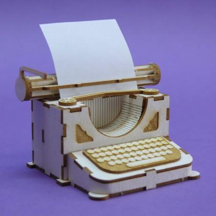 Tekturka 3d maszyna do pisania - Crafty Moly 1386