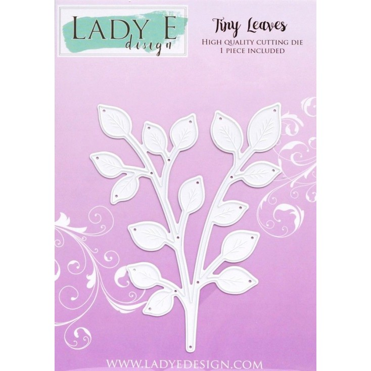 Die -Tiny Leaves - Lady E Design