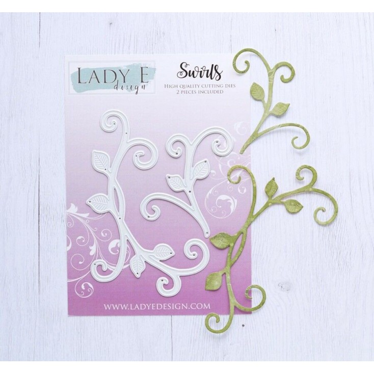 Die - Swirls - Lady E Design