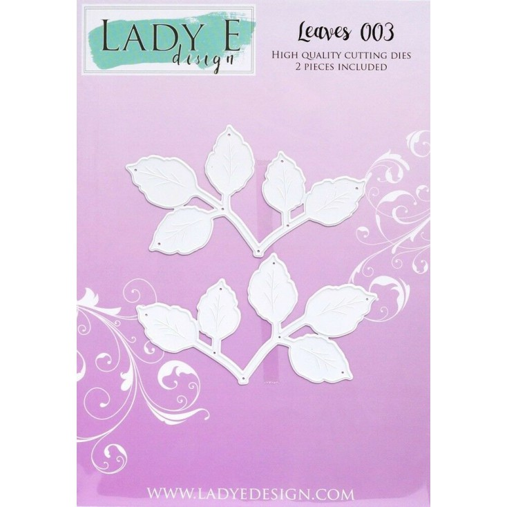 Die - Leaves 003 - Lady E Design