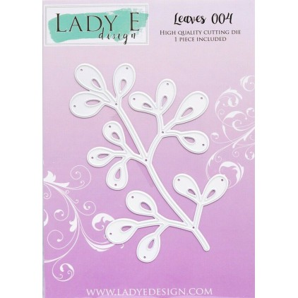 Die - Leaves 004 - Lady E Design