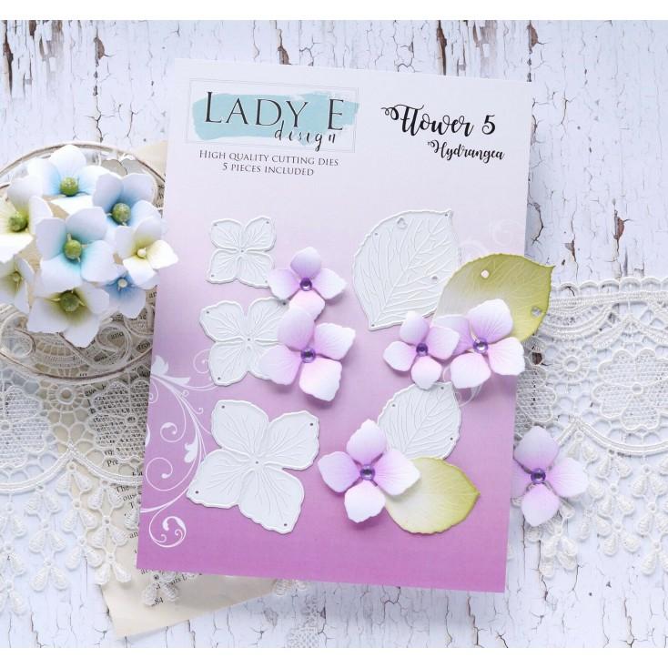 Die - Flower 5 Hydrangea - Lady E Design