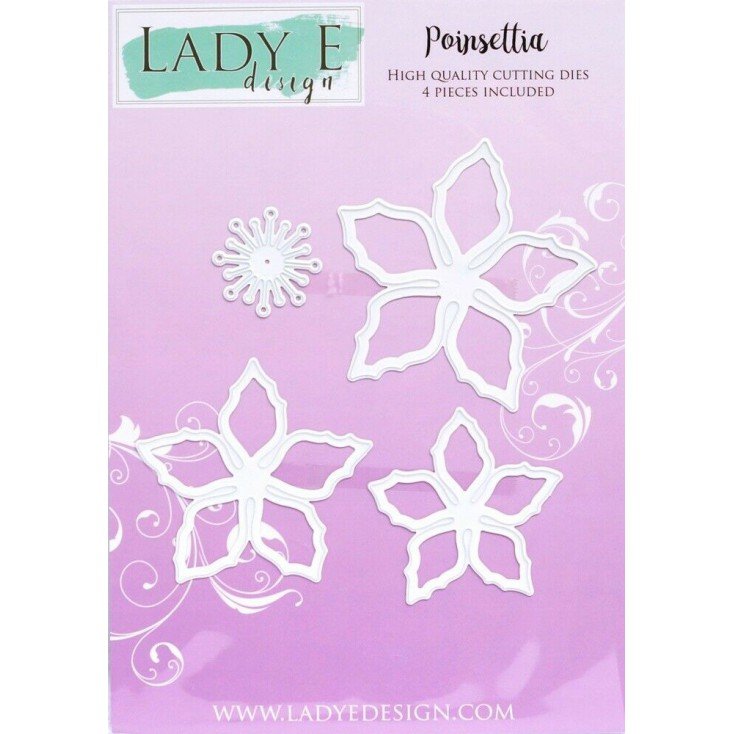 Die -Poinsettia - Lady E Design