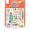 Set of die cuts 78 pieces - Specially for him - Fabrika Decoru FDSDC-04043