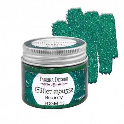 Glitter mousse - bounty - 50ml - Fabrika Decoru