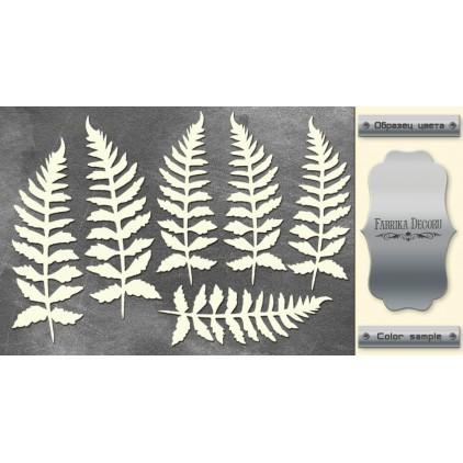 tekturka srebrna Botany Autumn - Fabrika Decoru FDCH 157