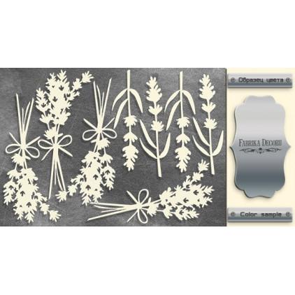 tekturka srebrna Lavender Provence 2 - Fabrika Decoru FDCH 285