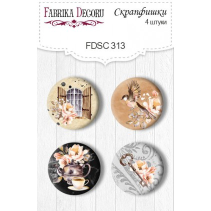 Ozdoby samoprzylepne, buttony - Fabrika Decoru - 313 - Sentimelntal story 3