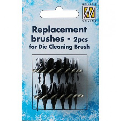 Nellie's Choice - Die cleaning brush - replaceable brushes - 2pcs