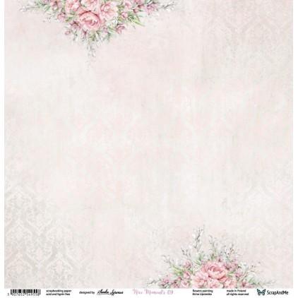 Nice Moments 09/10 - Papier w groszki, papier do scrapbookingu 30x30 cm - ScrapAndMe