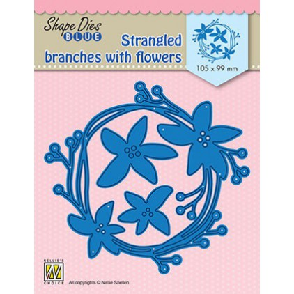 Strangled branches with flowers die Nellie's Choice SDB074