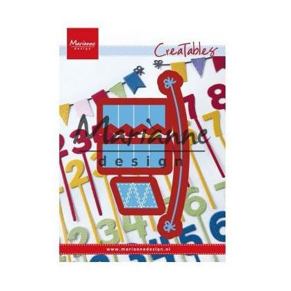 Wykrojniki - Marianne design - Craftables-LR0581