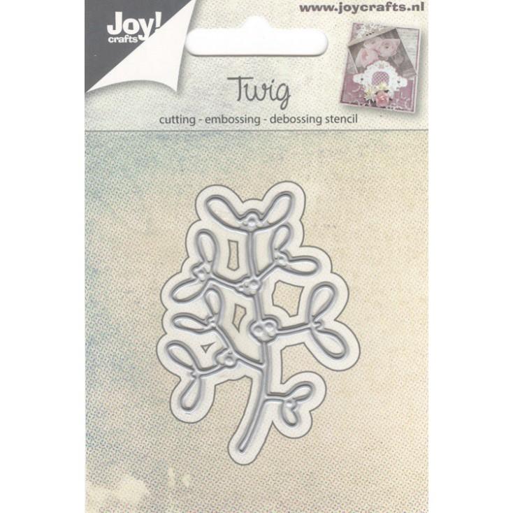 gałązki jemioły - wykrojniki do papieru - Joy Crafts Twig 6002/0566