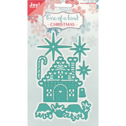 One of a kind Chrismas -cutting die Joy Crafts 6002/0583
