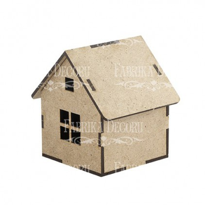 domek z oknem - baza do zdobienia - fabrika decoru fdpo-109