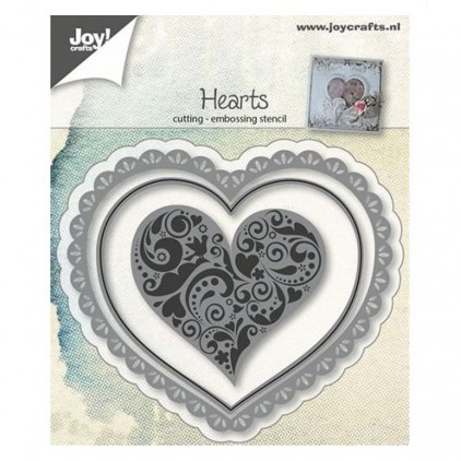 Hearts - cutting die Joy Crafts 6002/0642