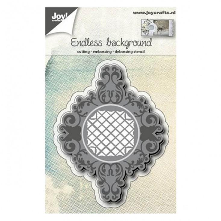 tło, ramka wykrojniki do papieru - Joy Crafts Endless background 6002/0569