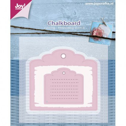 chalkboard- cutting die Joy Crafts 6002/0594