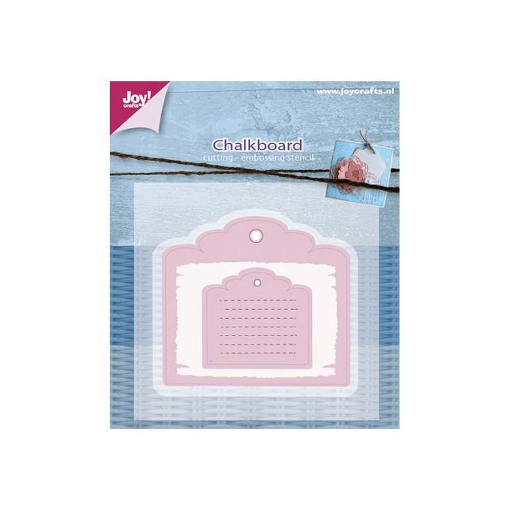 tablica, tag wykrojniki do papieru - Joy Crafts 6002/0594