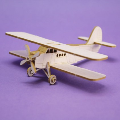 cardboard element airplane Antek 3D- Crafty Moly 1293