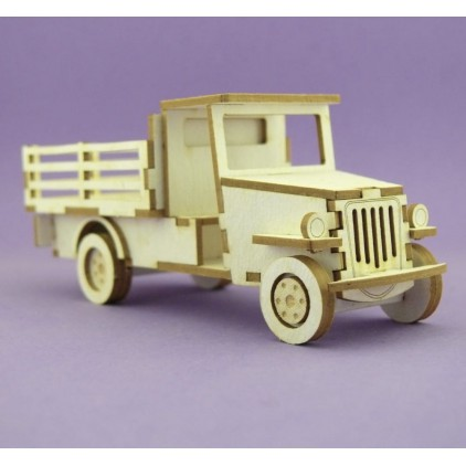 cardboard element truck 3D- Crafty Moly 1077m