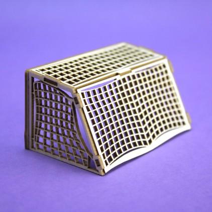 cardboard football gate3D- Crafty Moly 1297
