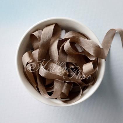 wstążka vintage - wstążki gnieciuchy - 1 metr - 25016 tobacco