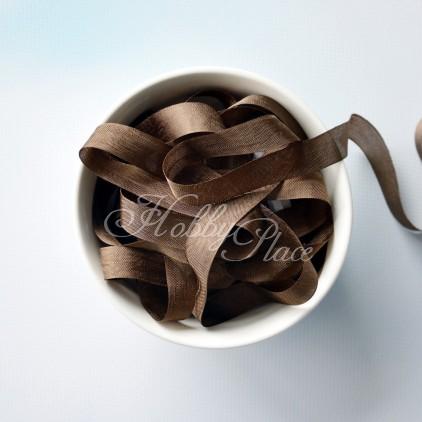 wstążka vintage - wstążki gnieciuchy - 1 metr - 25122 walnut