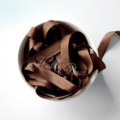 wstążka vintage - wstążki gnieciuchy - 1 metr - 25025 mimi brown