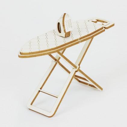 cardboard ironing board 3D- Crafty Moly 1411