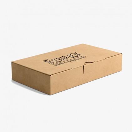 domowe warsztaty scrapbookingu - zestaw warsztatowy - kartka świąteczna - scrap-box