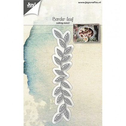 cutting die border leaf - swirl Joy Crafts 6002/1132
